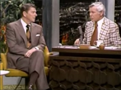 Throwback Thursday Video Ronald Reagan On The Tonight