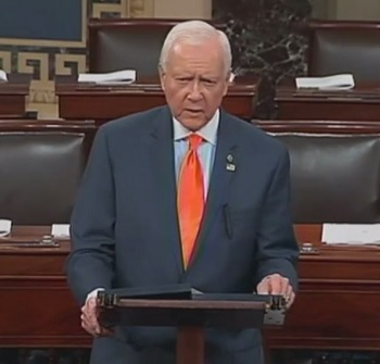 OrrinHatch-03202015-HumanTraffickingFilibuster-350px